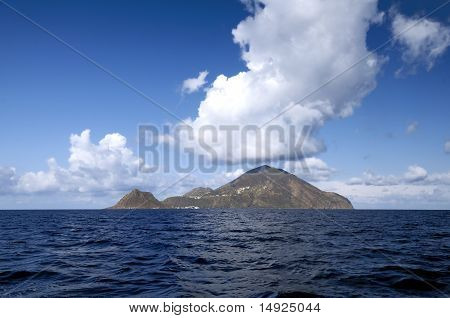 Filicudi, One Of Aeolian Islands