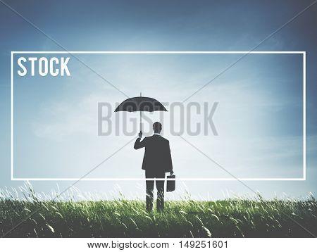 Stock Market Money Buy Sell Concept