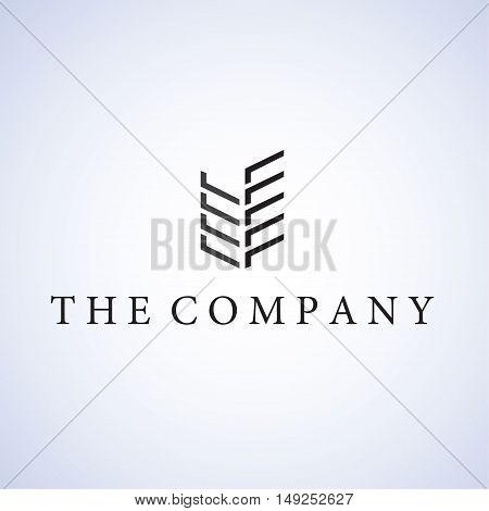 building logo ideas design vector illustration on background