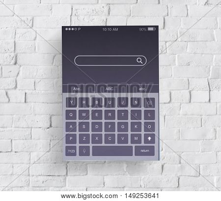 Searching Information Keyboard Application Concept