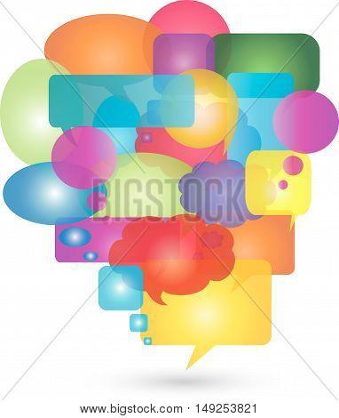 Speech, speech bubble, signs, symbols, speech, communication