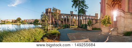 Palace of Fine Arts San Francisco - USA