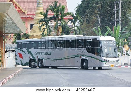 New Scania 15 Meter Bus Of Greenbus Company.