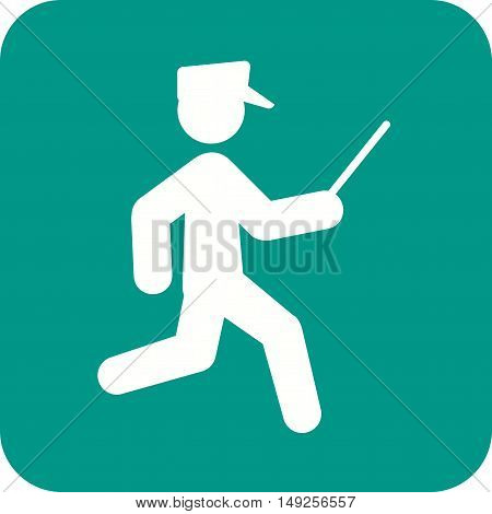 Crime, officer, police icon vector image. Can also be used for people. Suitable for use on web apps, mobile apps and print media.