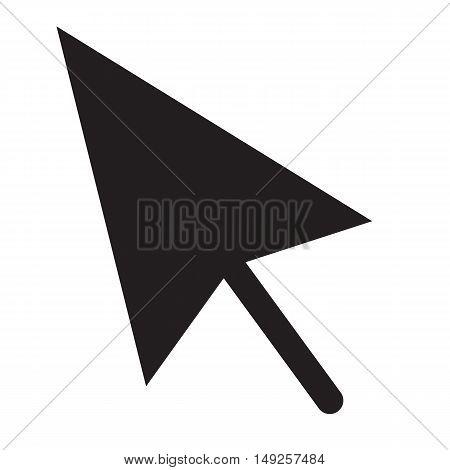 cursors icon vector illustration. Flat design style