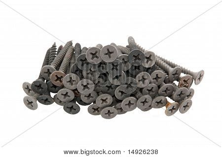 Dirty screw for plasterboard