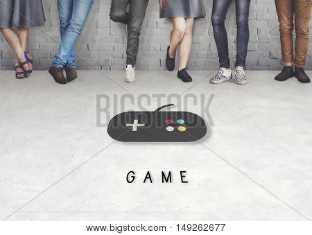 Game Playful Leisure Enjoyment Concept