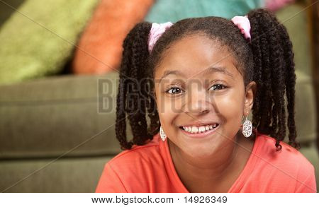 Happy African-american Child