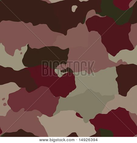 Camouflage pattern, graphic wallpaper texture design in various colors