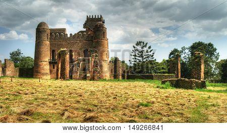 Fasilidas palace in Fasil Ghebbi site Gonder