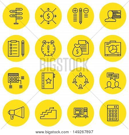 Set Of Project Management Icons On Money Revenue, Cash Flow, Promotion And More. Premium Quality Eps