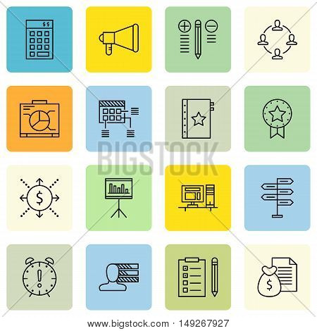 Set Of Project Management Icons On Deadline, Investment, Best Solution And More. Premium Quality Eps