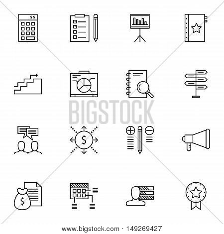 Set Of Project Management Icons On Cash Flow, Graph, Award And More. Premium Quality Eps10 Vector Il