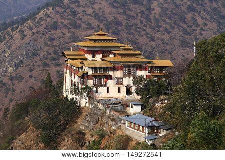 The Trashigang Dzong