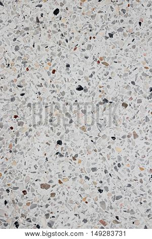 Stone wall texture Terrazzo Marble floor for background  image vertical