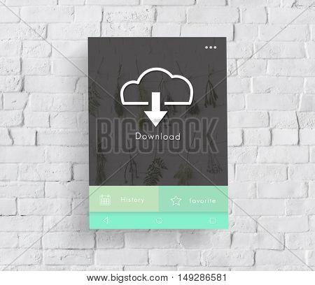 Download Information Data Network Concept