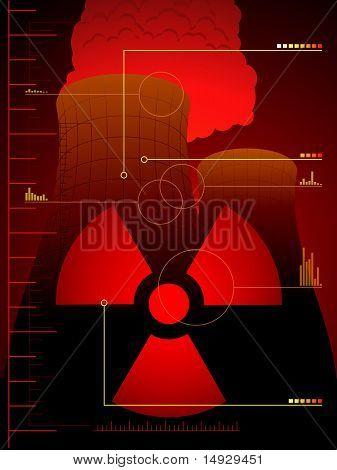 Radiation leak background
