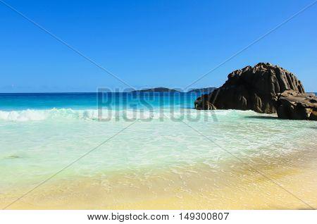 Stones Storm Seascape