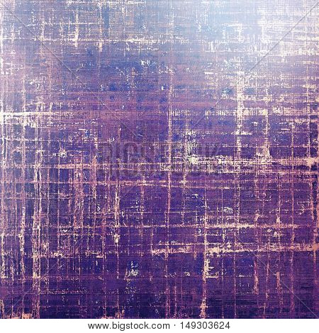 Vintage background in scrap-booking style, faded grunge texture with different color patterns: yellow (beige); blue; purple (violet); pink