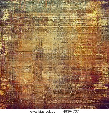 Grunge background for your design, aged shabby texture with different color patterns: yellow (beige); brown; gray; red (orange); purple (violet)