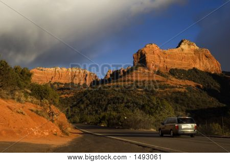 Driving In Sedona