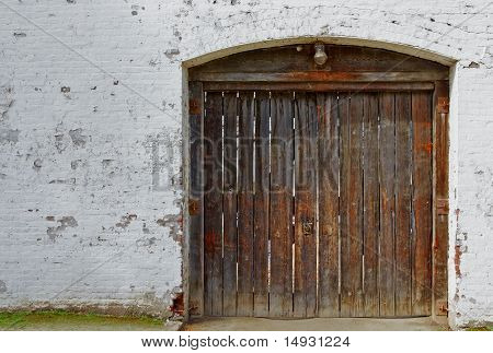 Old Wood Fort Doors