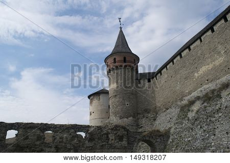 A big defensive fortress in Ukraine, Europe