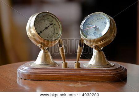 Interior Cabinet Clock