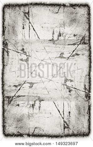 Black And White Monochrome Old Grunge Vintage Weathered Background Abstract Antique Texture With Ret