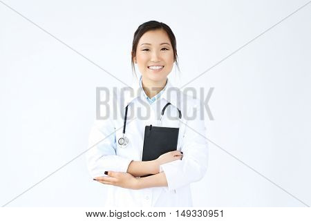 Medicine. Lovely doctor at work