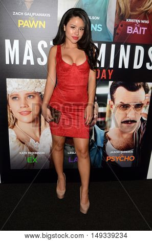 LOS ANGELES - SEP 26:  Cierra Ramirez at the