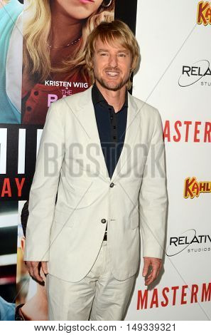 LOS ANGELES - SEP 26:  Owen Wilson at the