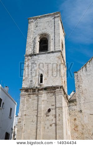 Mother Church. Polignano a Mare. Apulia.