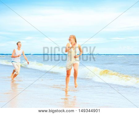Romance Sea Relationship