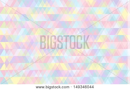Abstract multicolored background with geometrical figures of various shapes.