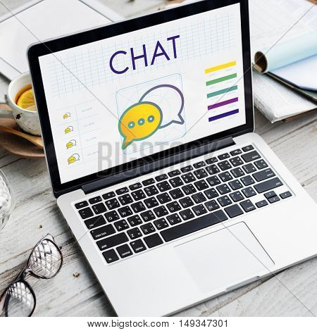 Chat Trends Interact Connection Discussion Concept