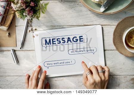 Message Text Mail Chat Communication Concept