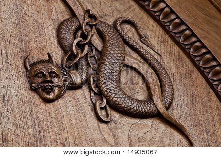 Medieval Demon - 11Th Century
