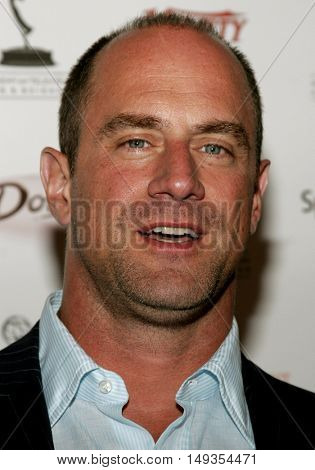 Christopher Meloni at the 58th Annual Primetime Emmy Awards Performer Nominee Reception held at the Pacific Design Center in West Hollywood, USA on August 25, 2006.