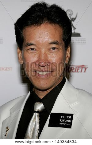 Peter Kwong at the 58th Annual Primetime Emmy Awards Performer Nominee Reception held at the Pacific Design Center in West Hollywood, USA on August 25, 2006.