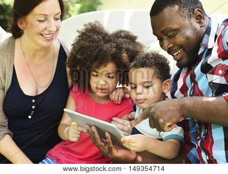 Family Relaxation Parenting Togetherness Love Concept