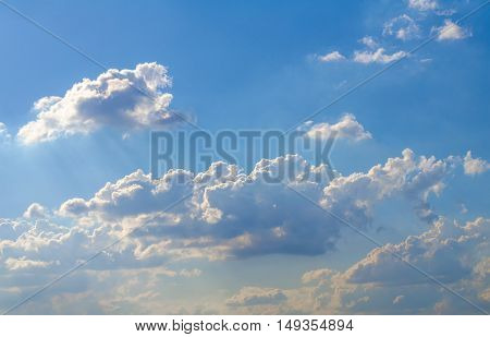 Sky with clouds,blue skies , white clouds