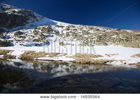 Snow Mountain Mirror