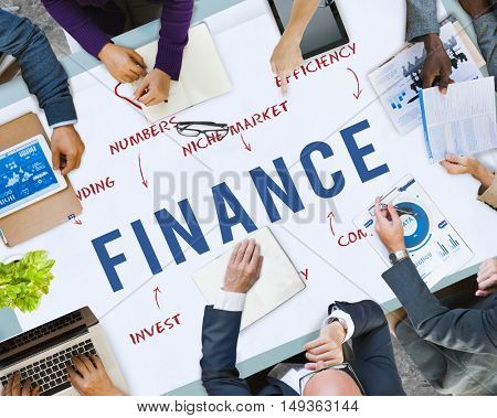 Finance Business Company Strategy Marketing Concept