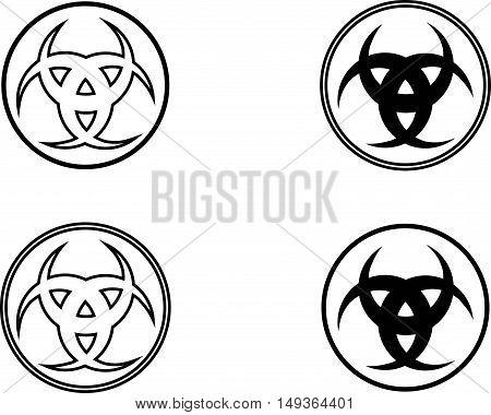 Three crescen t, The horn of Odin ,  three crescent symbol