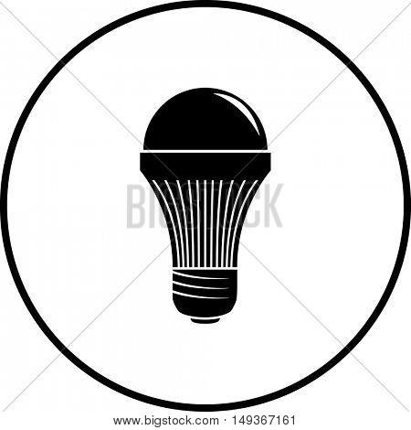 led light bulb symbol