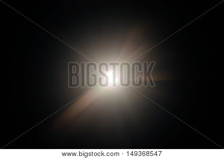 Dark solar eclipse as background texture closeup