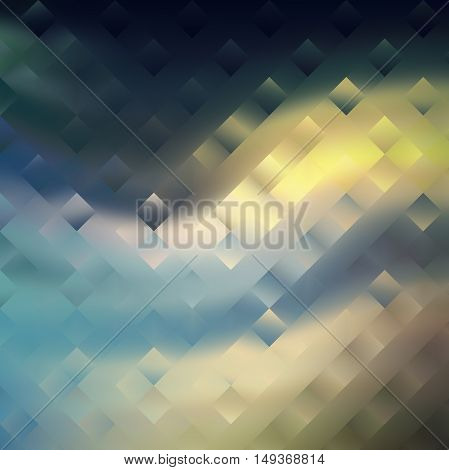 Digital painted texture square background. Abstract beautiful illustration color silk liquid print.