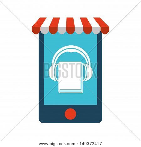 commerce electronic flat icons vector illustration design