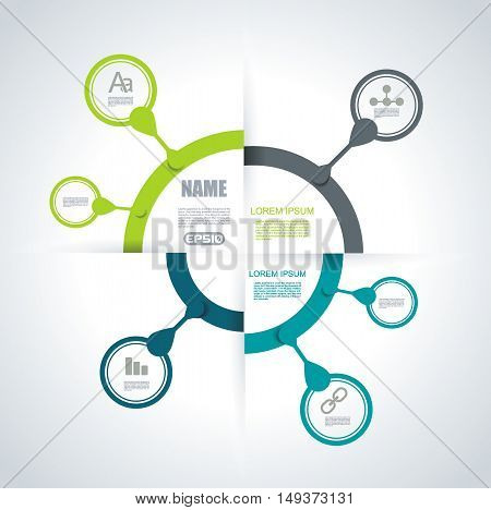 Business Pie Chart For Documents And Reports For . Reports, Graph, Infographic, Business Plan.